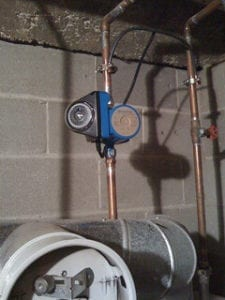 A hot water recirculation system