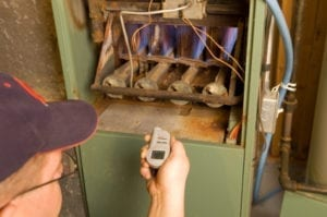 Inspecting furnace